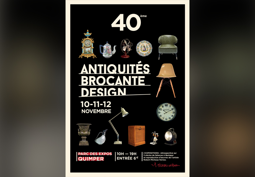 hotel quimper antiquites brocante design